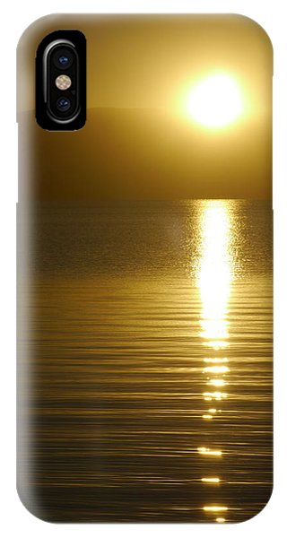 Sunset In January IPhone Case