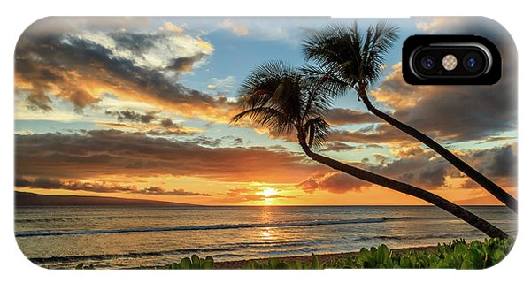 Sunset In Kaanapali IPhone Case