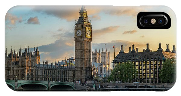Sunset In London Westminster IPhone Case