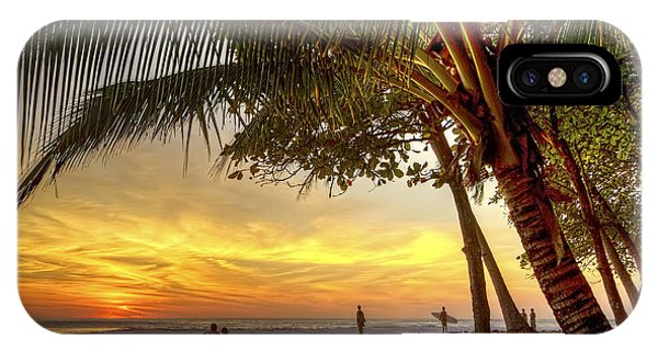 Sunset In Mal Pais IPhone Case