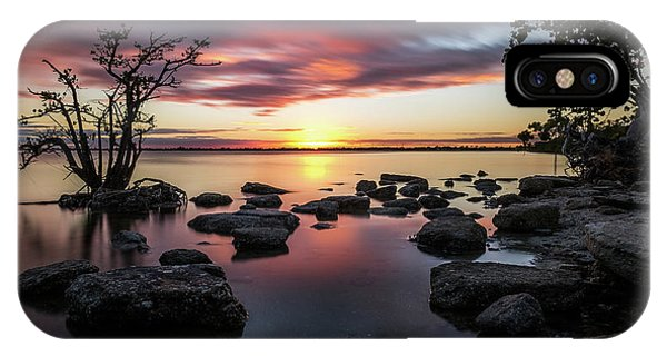 Sunset In Merritt Island - Florida, United States - Seascape Photography Phone Case by Giuseppe Milo