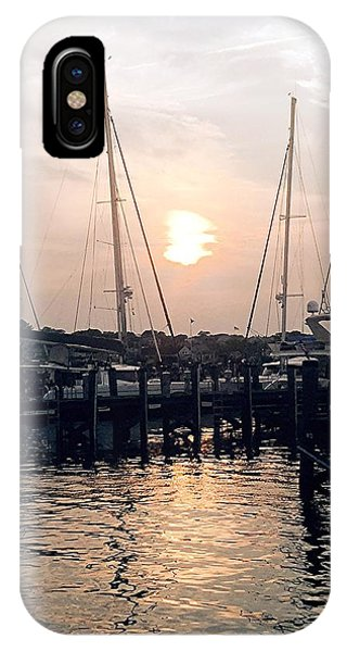 IPhone Case featuring the photograph Sunset In Nantucket by Marian Palucci-Lonzetta