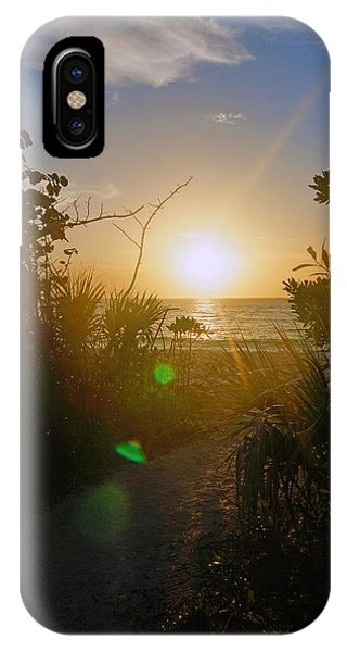 Sunset In Naples At Barefoot Beach IPhone Case
