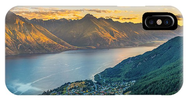 Sunset In New Zealand IPhone Case