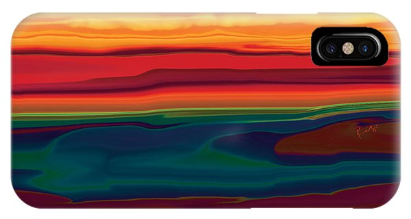 Sunset In Ottawa Valley IPhone Case