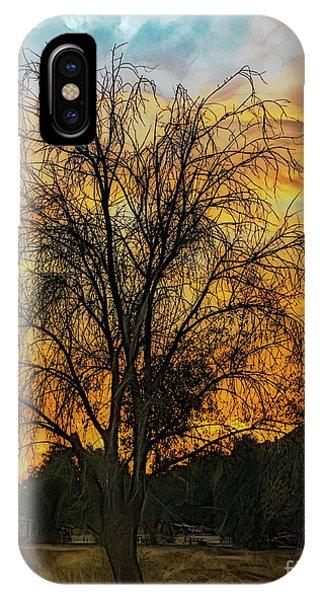 Sunset In Perris IPhone Case