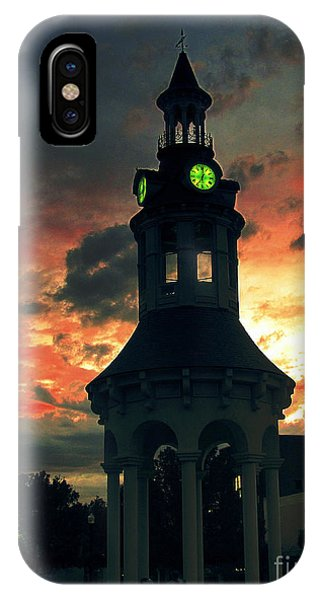 Sunset In Red Bluff IPhone Case