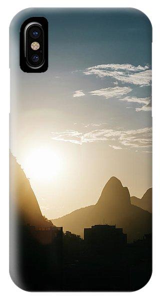 Sunset In Rio De Janeiro, Brazil IPhone Case