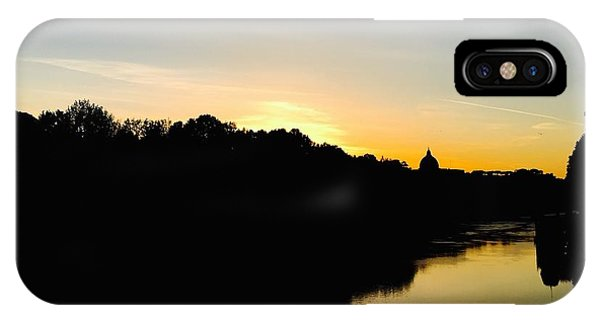 Sunset In Rome IPhone Case