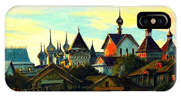 Sunset In Rostov IPhone Case