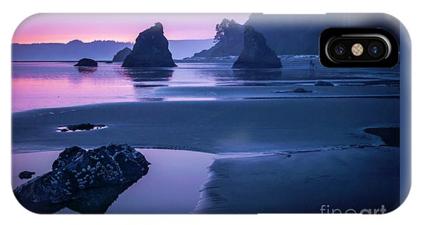 Sunset In Ruby Beach IPhone Case