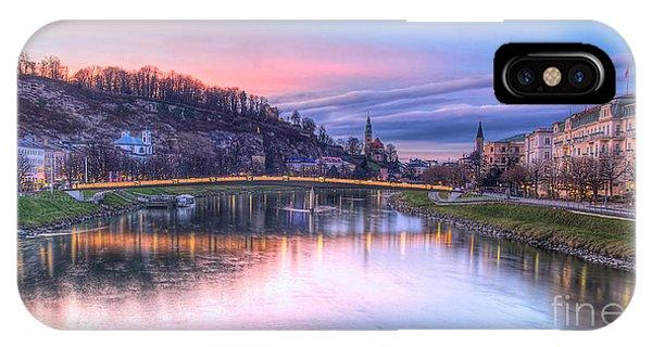 Sunset In Saltzburg IPhone Case