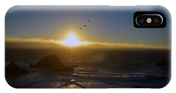 Sunset In San Francisco IPhone Case