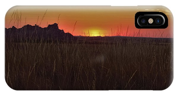 Sunset In The Badlands IPhone Case