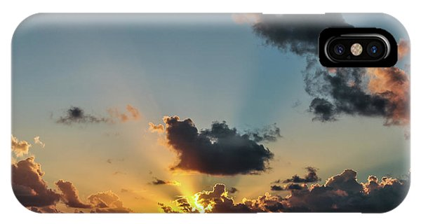 Sunset In The Caribbean Sea IPhone Case