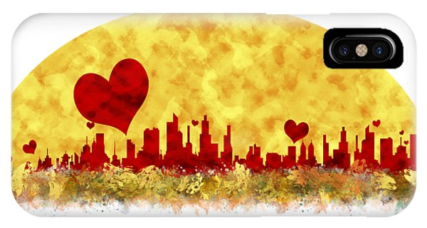 Sunset In The City Of Love IPhone Case