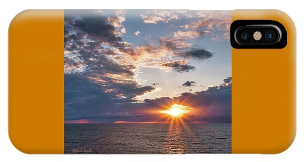 Sunset In The Clouds IPhone Case