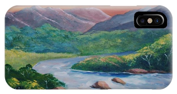 Sunset In The River IPhone Case