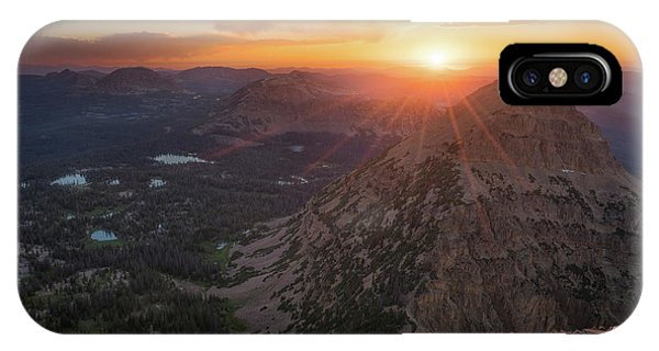 Sunset In The Uinta Mountains IPhone Case