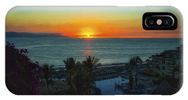 Sunset In Vallarta  ... IPhone Case