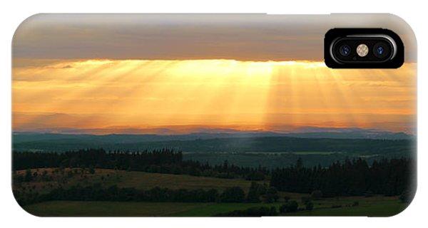 Sunset In Vogelsberg IPhone Case