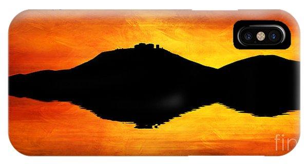Sunset Island IPhone Case