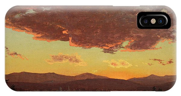 Jervis iPhone Case - Sunset by Jervis McEntee