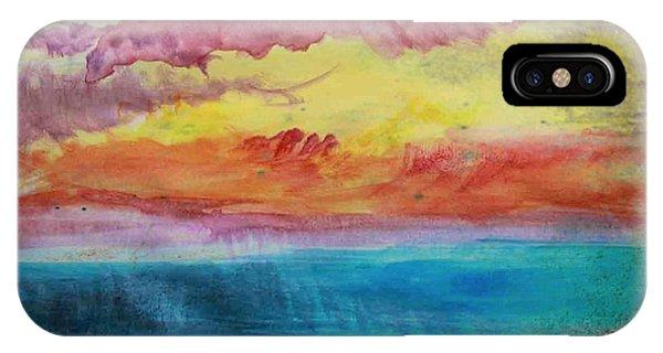 Sunset Lagoon IPhone Case