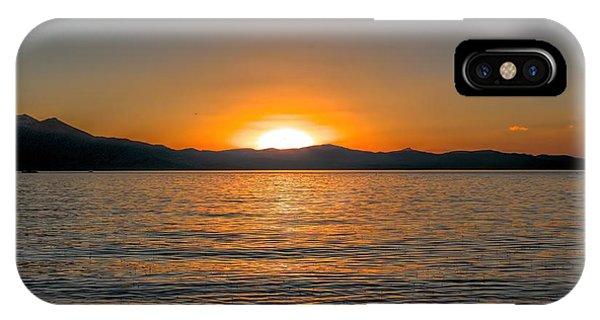 Sunset Lake 3 IPhone Case
