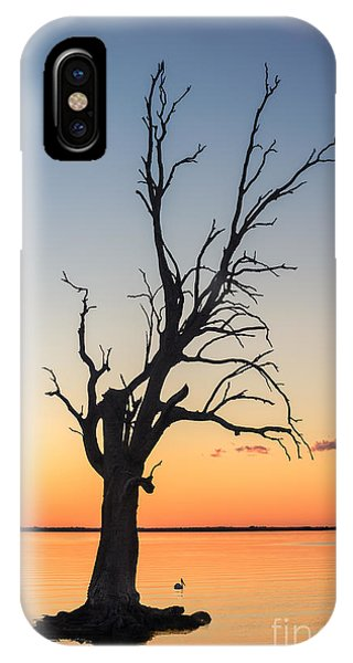IPhone Case featuring the photograph Sunset Lake by Ray Warren