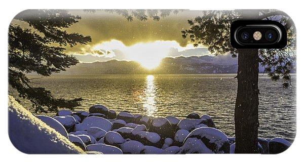 Sunset Light Lake Tahoe IPhone Case