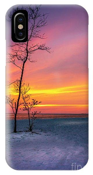 Treeline iPhone Case - Sunset Light by Marvin Spates