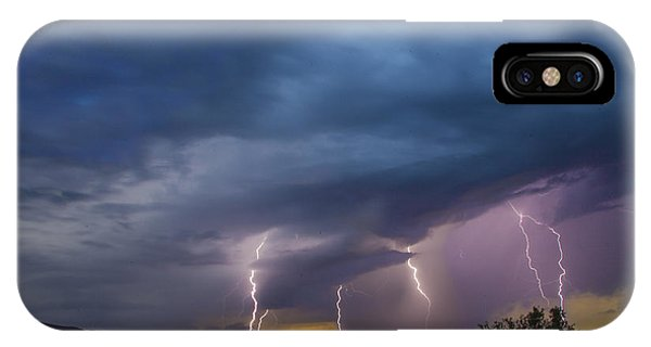 Sunset Lightning IPhone Case