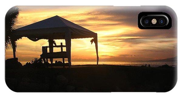 Sunset Massage IPhone Case