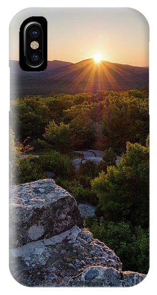 Sunset, Mt. Battie, Camden, Maine 33788-33791 IPhone Case