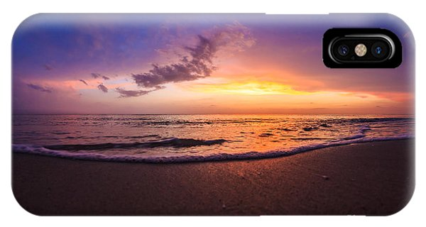 Sunset Naples Beach Florida IPhone Case