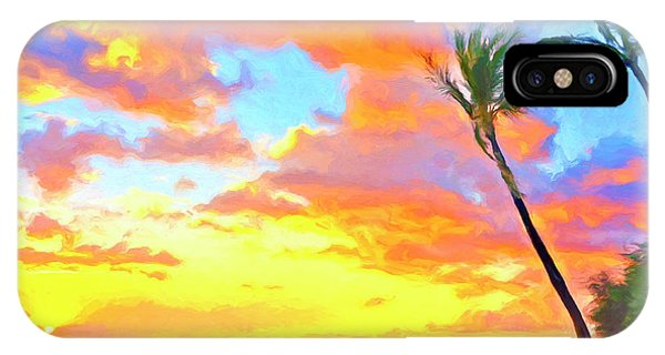 Hawaiian Sunset iPhone Case - Sunset Near Kawaihae by Dominic Piperata
