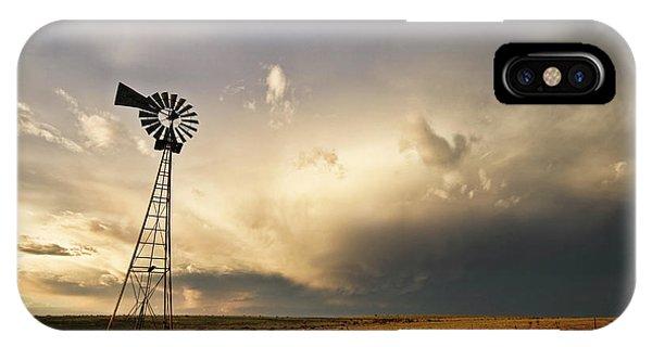 Sunset Near Santa Rosa New Mexico IPhone Case