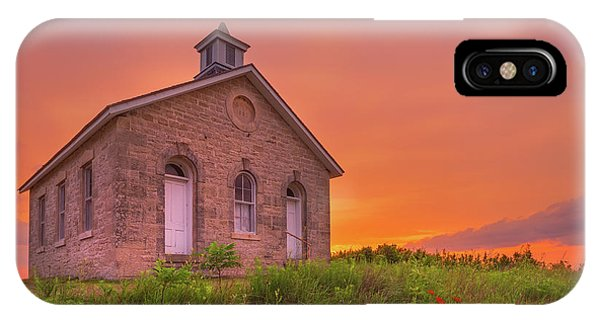 IPhone Case featuring the photograph Sunset Of 1882 by Darren White