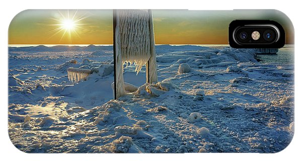 Sunset Of Frozen Dreams IPhone Case