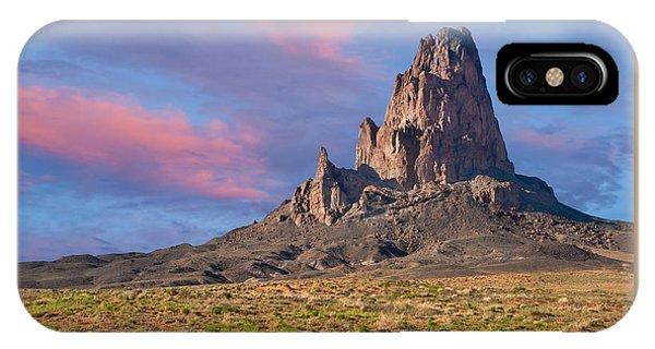 Sunset On Agathla Peak IPhone Case