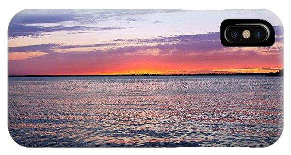 Sunset On Barnegat Bay I - Jersey Shore IPhone Case