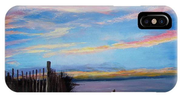 Sunset On Cape Cod Bay IPhone Case