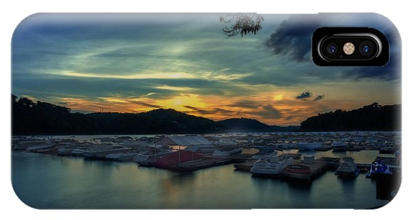 IPhone Case featuring the photograph Sunset On Cheat Lake by Dan Friend