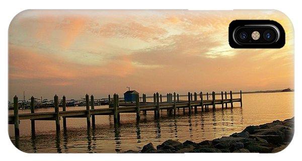 Sunset On Dewey Bay IPhone Case