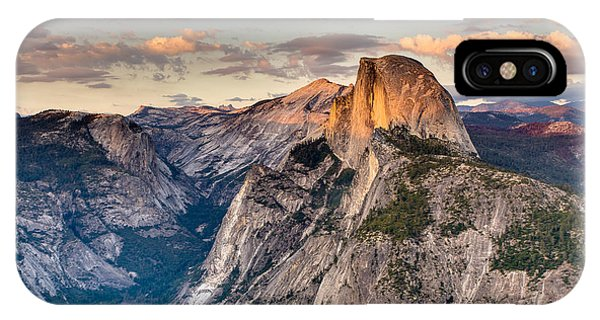 Sunset On Half Dome IPhone Case