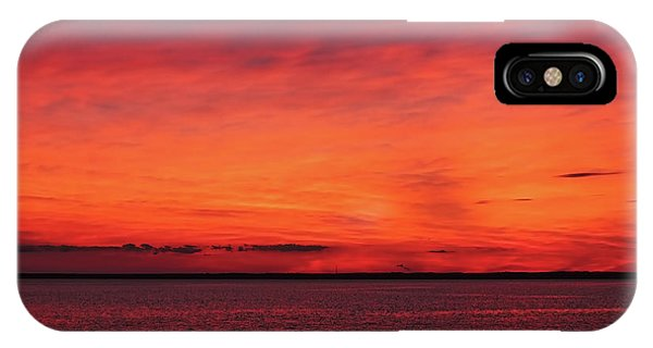 Sunset On Jersey Shore IPhone Case