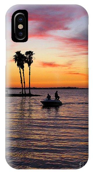 iPhone Case - Sunset On Lake Dora At Mount Dora Florida by William Kuta