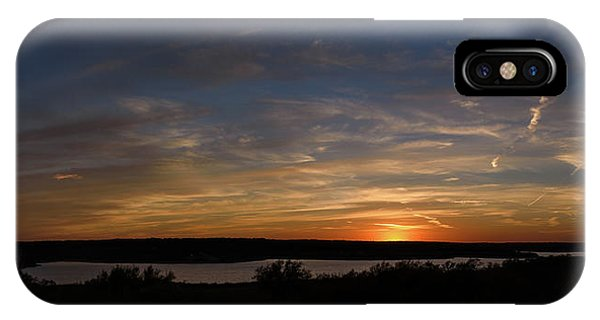 Sunset On Lake Georgetown IPhone Case