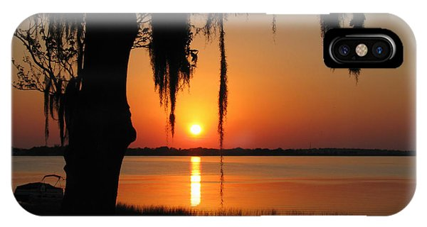 Sunset On Lake Minneola IPhone Case